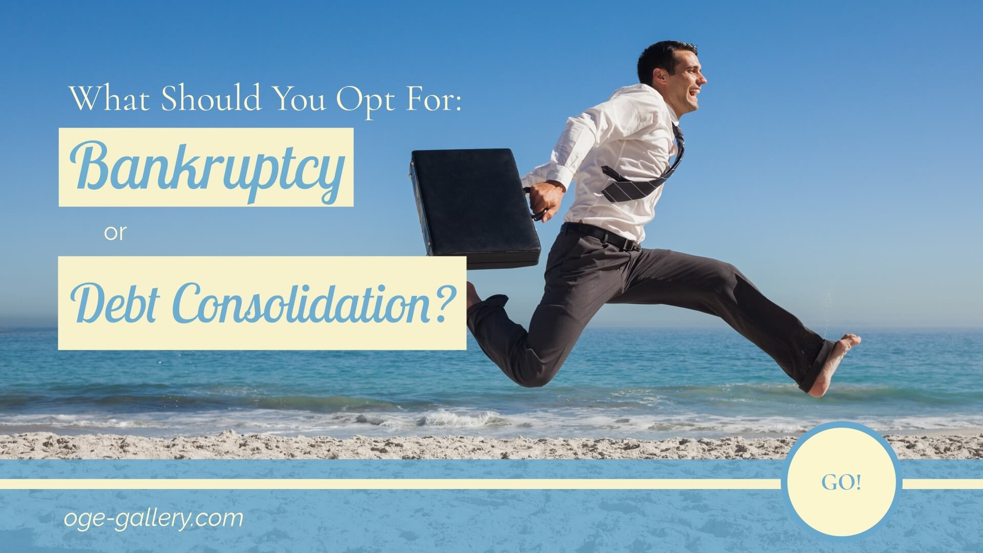bankruptcy or debt consolidation